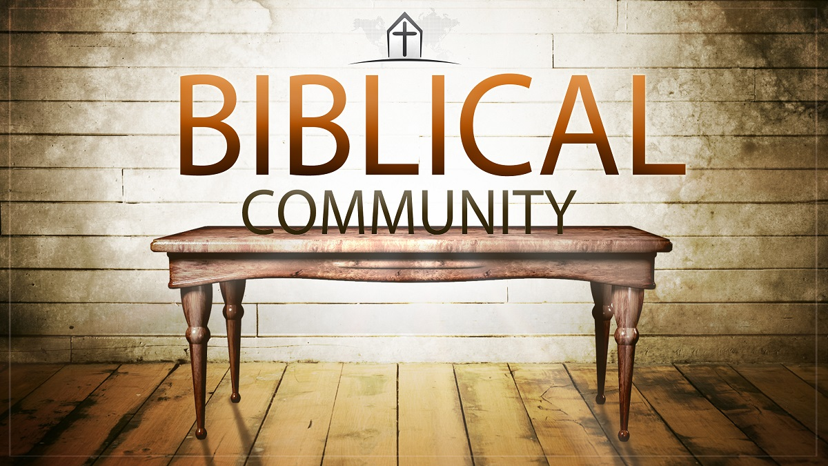 Biblical Community Header